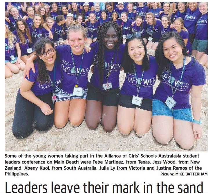 Empowering girls across Australasia