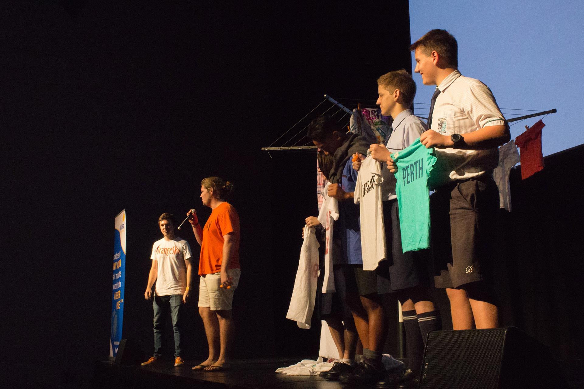 Year 9 Students soar with Australia's brightest young leaders!